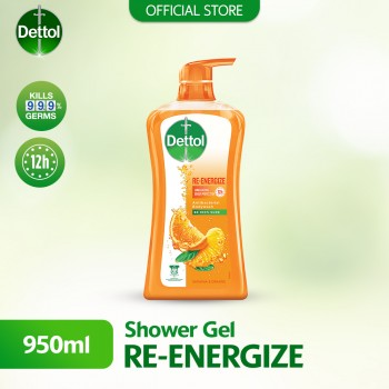 Dettol Shower Gel Re-energize 950ml