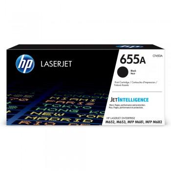 HP 655A Black Toner Cartridge - 12.5k