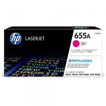 HP 655A Magenta Toner Cartridge - 10.5k