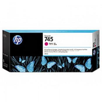 HP 745 300-ml DesignJet Magenta Ink Cartridge (F9K01A)