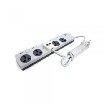 Home Shield High-grade Multifunctional Socket - Surge Protection - Fire Retardant (HS-5GANG)