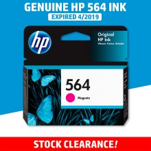 [CLEARANCE] Original HP 564 Magenta Ink Cartridge - Genuine HP Ink CB319WA CB319A CB319 Color Ink (300 Pages)