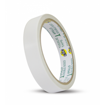 APOLLO Double Sided Cotton Tape - 12mm x 10yards