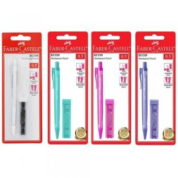 Faber Castell Econ Mechanical Pencil - 1342 - 0.5mm (Item No: A02-12 ECON0.5) A1R1B222