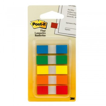 "3M Post-It 683-5CF Post-It Flags 47 x 1.7"" 100 Flags"