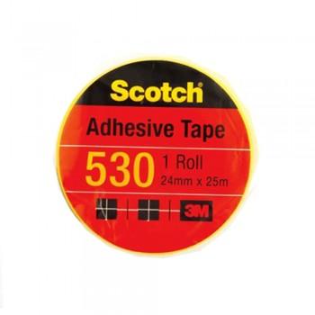 """3M Scotch 530 Tape 24mmx25m (1"""" core)"""