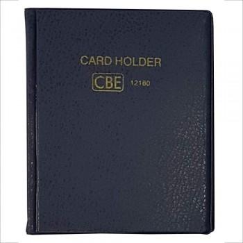CBE 12180 PVC Name Card Holder - Blue