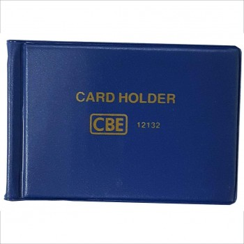 CBE 12132 PVC Name Card Holder - Blue