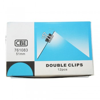 CBE 761083 51MM Double Clip 12pcs/box [220092884]