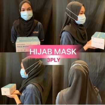 MEDICMAD/SIMPLY K SURGICAL DISPOSABLE FACE MASK (HIJAB)