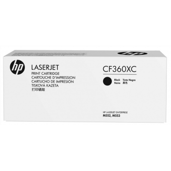 HP 508XC Black Original Toner Cartridge (CF360XC)