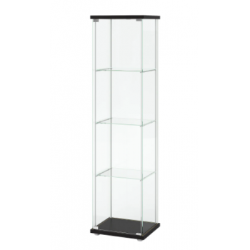 DETOLF Glass-door Cabinet c/w lock