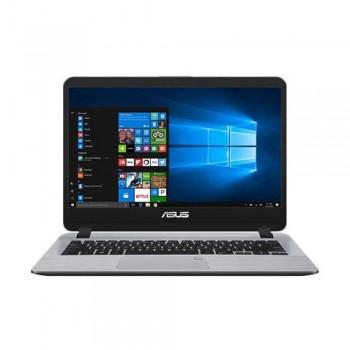 """Asus Vivobook A407U-ABV321T 14"""" HD Laptop - i3-8130U, 4gb ddr4, 1tb hdd, Intel, W10, Grey"""