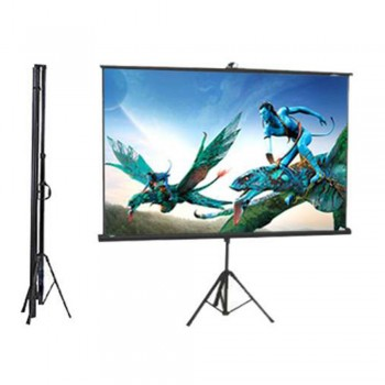 DP Screen Projector Screen - Tripod Screen - Matte White - DP-TP-07 - Screen Ratio 7' x 7' - Screen Size 2130 x 2130mm