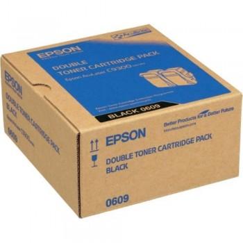 Epson SO50609 Double Pack Black Toner (Item no: EPS SO50609)