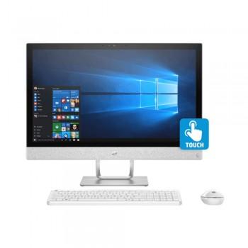"""HP Pavilion 24-R102D 23.8"""" FHD Touch AIO Desktop PC - Amd Ryzen 3 2300U, 8gb ddr4, 1tb, Vega 8, W10"""