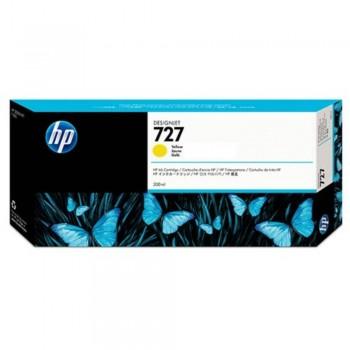 HP 727 300-ml Yellow DesignJet Ink Cartridge (F9J78A)