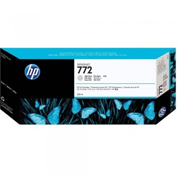 HP 772 DesignJet Ink Cartridge 300-ml - Light Gray (CN634A)