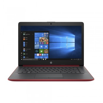 "HP 14-ck0101TU 14"" HD Laptop - i3-7020U, 4GB DDR4, 1TB, Intel HD, W10, Red"
