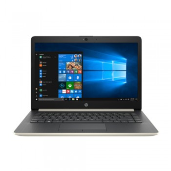 "HP 14-cm0012AX 14"" HD Laptop - AMD Ryzen 3 - 2200U, 4GB DDR4, 1TB, AMD 520 2GB, W10, Gold"