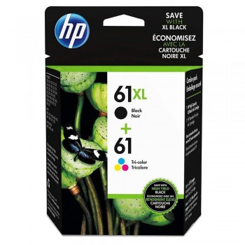 HP 61XL Colour/Black Ink Cartridge PVP Pack (J3N03AA)