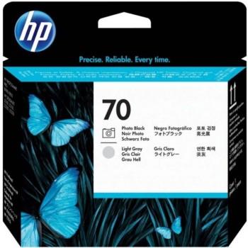 HP 70 DesignJet Printhead - Photo Black/L.Gray (C9407A)