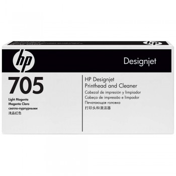 HP 705 DesignJet Printhead/Printhead Cleaner - Light Magenta (CD958A)