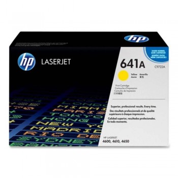 HP 641A Yellow LaserJet Toner Cartridge (C9722A)