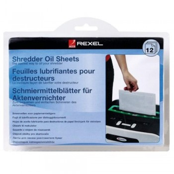 Rexel Shredder Oil Sheet (Item No: G07-45) A7R1B48