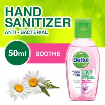 Dettol Hand Sanitizer Soothe 50ml