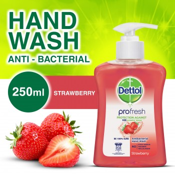 Dettol Hand Wash Strawberry 250ml