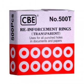 CBE Reinforcement Ring Transparent (Item No: B10-126) A1R3B32