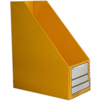 "CBE 06813 5"" PVC Box File (A4) YELLOW"