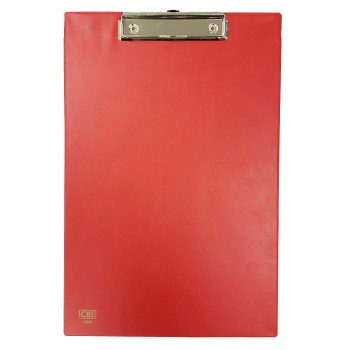 CBE 1340 PVC H-Clip Board (FC) Red