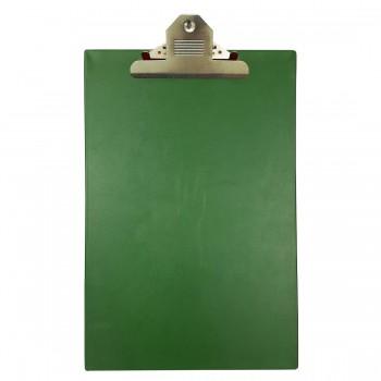 CBE 1496 PVC Jumbo-Clip Board (FC)-green