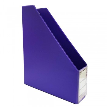 "CBE 412 3"" PVC Box File (A4)-violet (Item No: B10-114) A1R5B78"