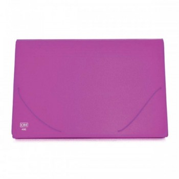 CBE Expanding File A4 4302 - Pink (Item No: B10-16 PK) A1R5B1