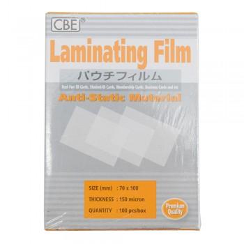 CBE 70 X 100 - 150micron Laminating Film