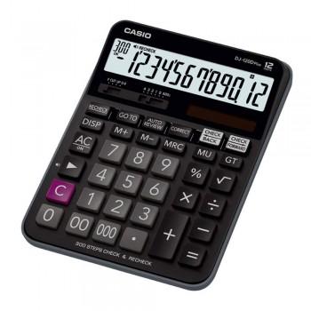 Casio Desktop Calculator - 12 Digits, 300 Steps Check & Recheck (DJ-120D-PLUS)