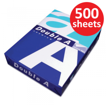 Double A Paper 80gsm - A4 size - 100 ream - 500 sheets