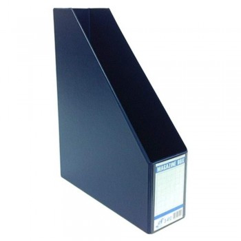 "East-File PVC Magazine Box Filing Case — 3"" (Item No: B11-94 BL) A1R5B83"