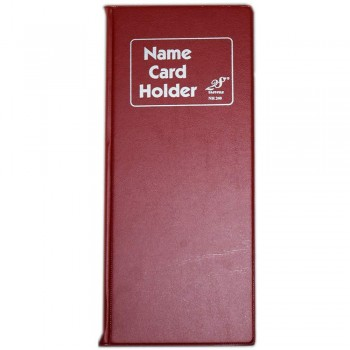 EAST FILE NH240 Name Card Holder Red (Item No: B01-49)