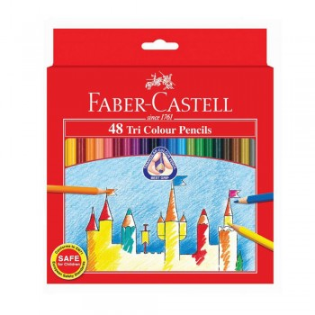 Faber Castell Tri-Grip 48 Colour Pencil (115876)