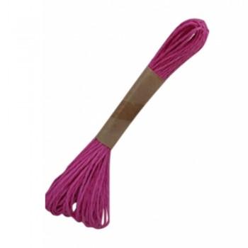 Colorful Paper Rope 25meters - Pink