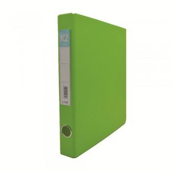 L125 25mm 2D Glue Ring File A4 - Fancy Green