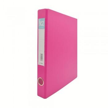 L125 25mm 2D Glue Ring File A4 - Fancy Pink