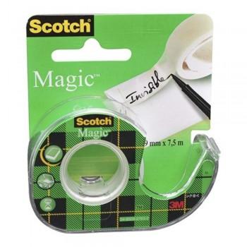 3M Scotch® Magic Tape Dispenser Roll -19mm x 4m