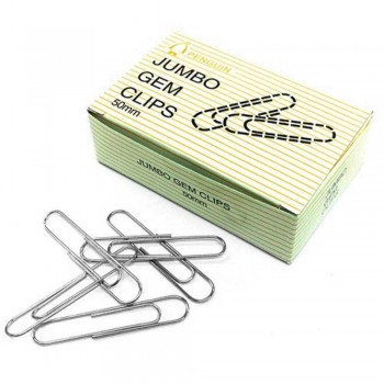 Penguin Jumbo Gem Paper Clips - 50mm - 100pcs (Item No: B03-07) A1R2B79