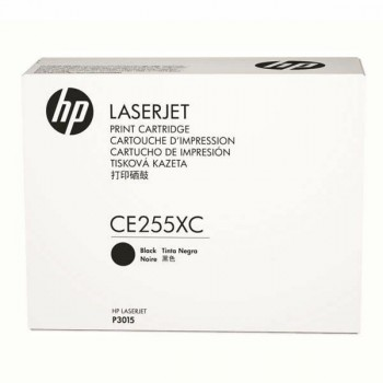 HP 55X Black LaserJet Toner Cartridge (CE255XC)