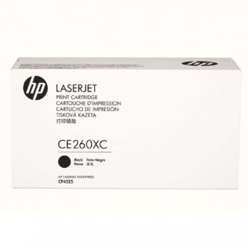 HP 649X Black LaserJet Toner Cartridge (CE260XC)